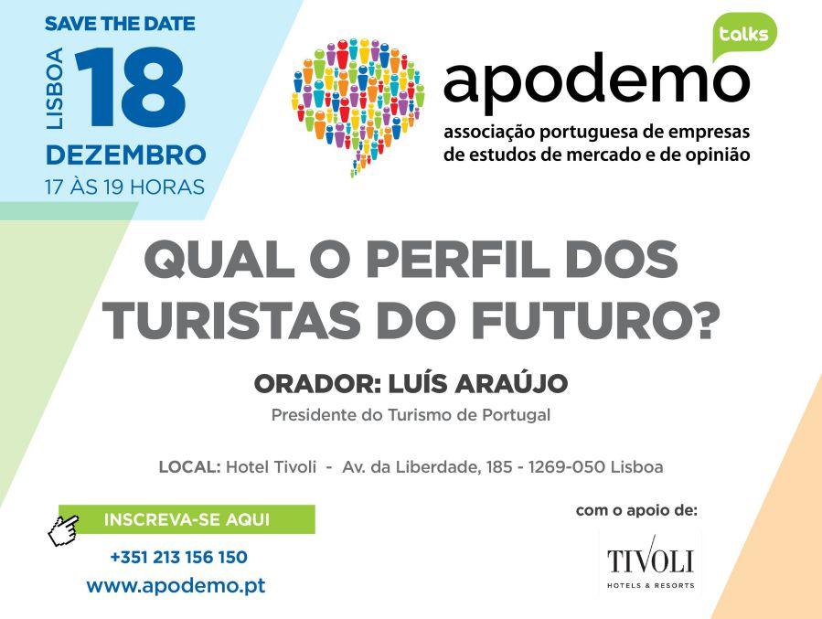 2ª edição Apodemo Talks, 18 de Dezembro às 17 horas