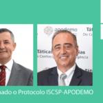 Prof. Dr. Manuel Meirinho Martins – Presidente do ISCSP e Dr. Carlos Mocho – Presidente da APODEMO